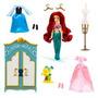 Set De Princesa Disney Ariel Con Armario Y Accesorios. 100%