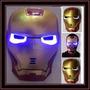 Mascara Iron Man Con Luz Led Superheroes Vengadores Avengers