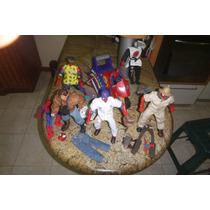 Coleccion De Figuras De Acción De Spiderman Toy Biz Con Moto