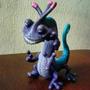 Monster Inc Randall Muñeco Coleccion Juguete Usado Disney