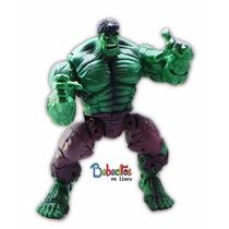 Muñeco Hulk El Increible De 20 Cm Se Mueve Es Articulado