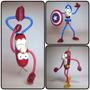 Güichos, Capitan America, Spiderman, Flash,superman Cotillon