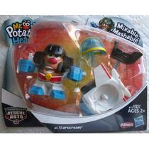 Mr Potato Starscream Heroes Transformers Rescue Bots