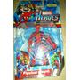 Spiderman Con Telaraña Figura Avengers Juguete Niños +3 Años