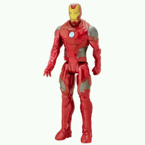 Muñeco Iron Man 30 Cm Titan Hero Serie Battle Juguete Hasbro