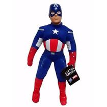 Muñecos Peluche Hulk- Hombre Araña- Iron Man - Capitan