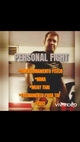 personal fight.