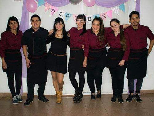 personal para eventos mozos camarera ayudante de cocina