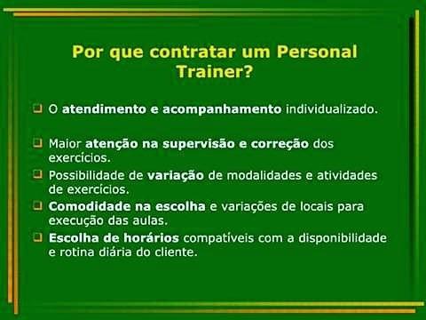 personal trainer consultoria presencial e online