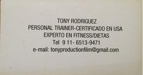 personal trainer- entrenador personal y online