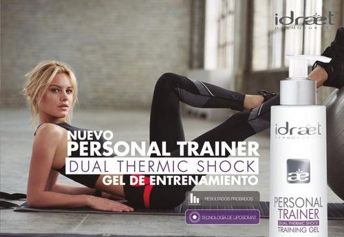 personal trainer gel entrenamiento idraet
