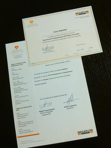 personal trainer master  (socio megatlon y sport club)