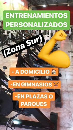 personal trainer online y clases grupales (zoom)