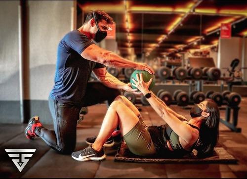 personal trainer presencial individual ou em dupla
