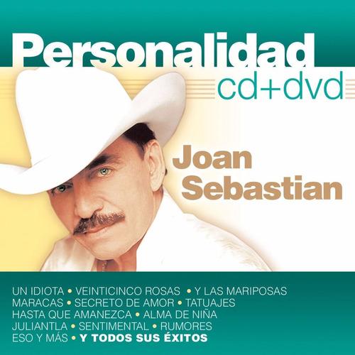 personalidad joan sebastian disco cd + dvd