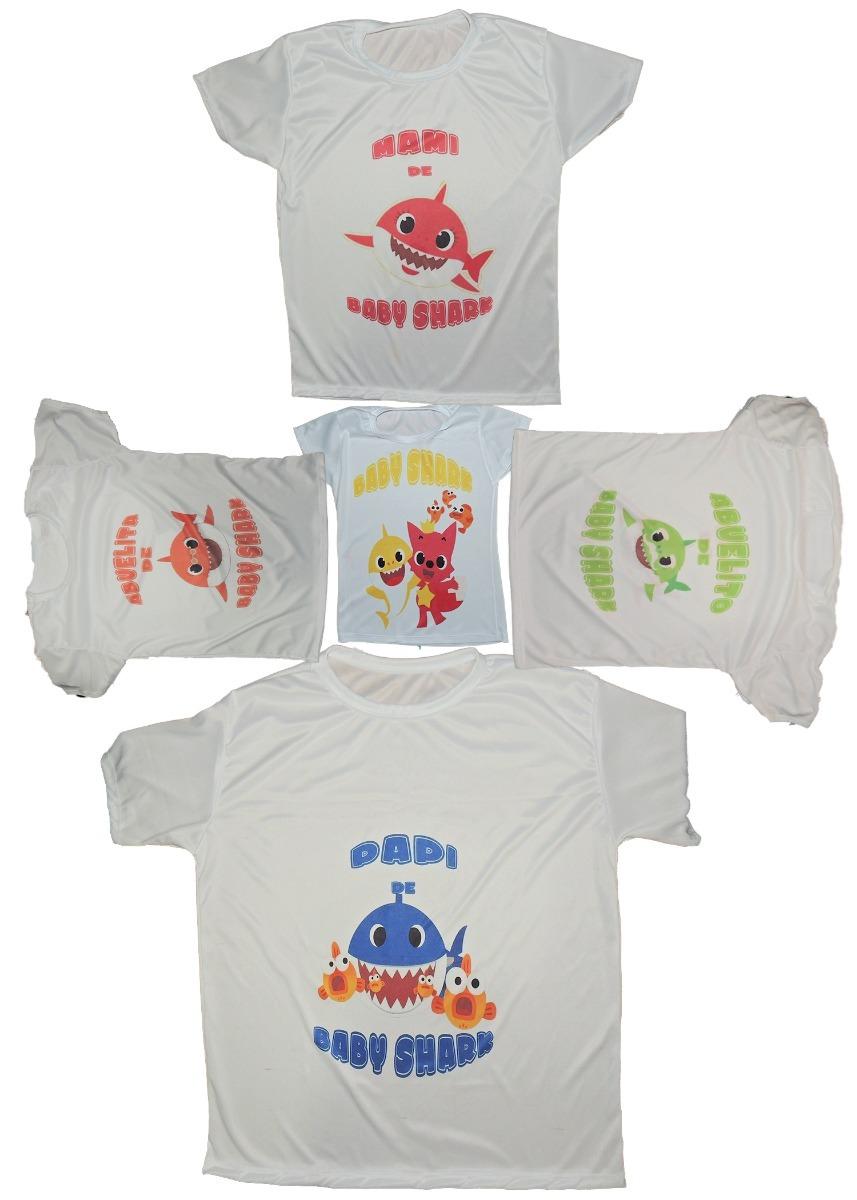 Personaliza Tu Playera Adulto O Niño Baby Shark -   45.00 en Mercado ... 987900b7f4911