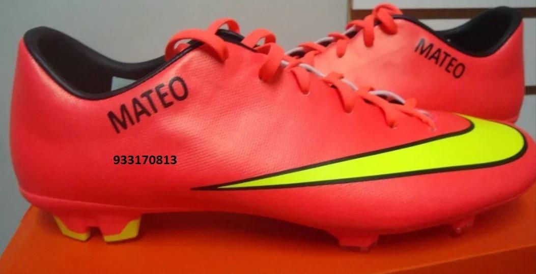 De Zapatillas Chimpunes Personalizacion Personalizada Y Nike R4jL53Aq