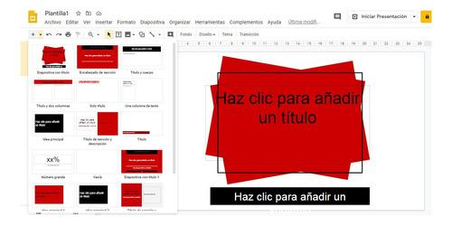 personalización de presentaciones-power point, google drive