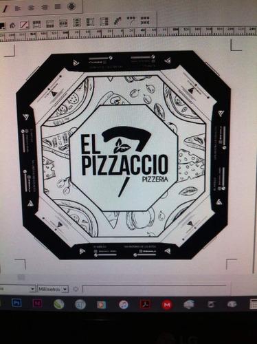 personalizacion de tu caja de pizza para llevar