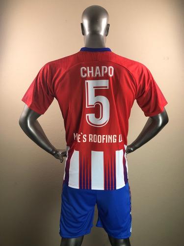 personalización uniformes futbol