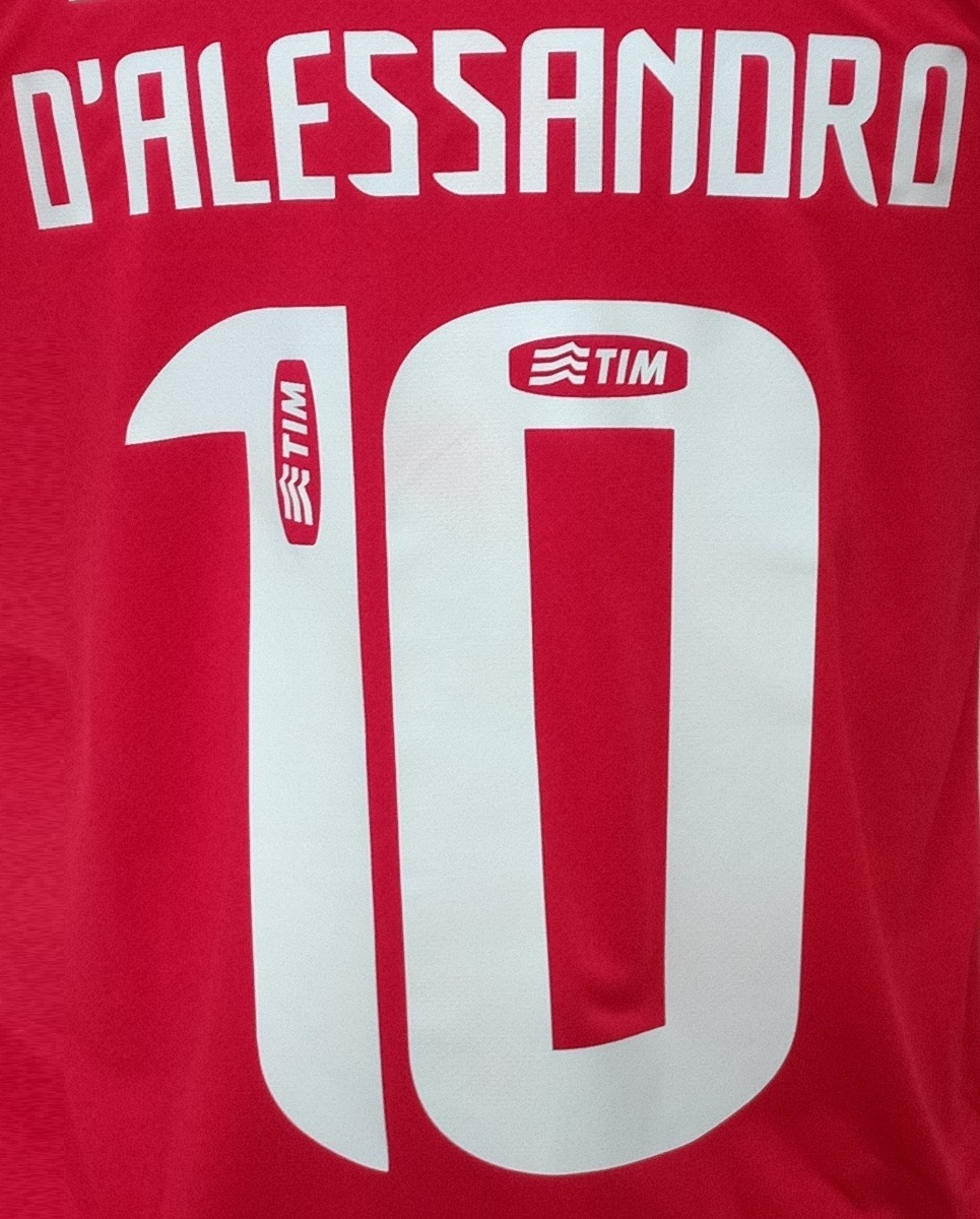73664d20f45e5 Personalização Com Nome E Número Em Camisas De Futebol - R  20