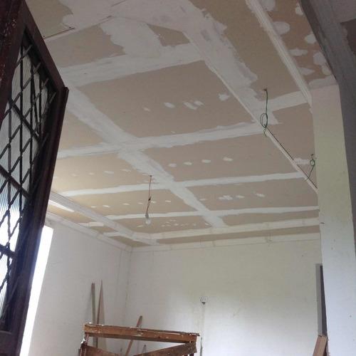 personalização de ambiente, forros em drywall, pinturas...