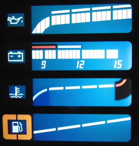 personalização led conserto painel digital kadett gsi monza
