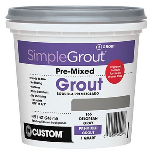 personalizado pmg165qt 1quart simple premium grout delorean