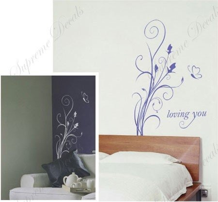 personalizado popdecals - loving you - hermosa pared del ár