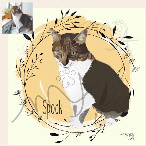 personalizados - arte digital - retratos de pets e pessoas