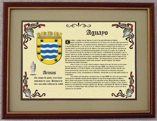 personalizados heráldica escudo de armas de los apellidos