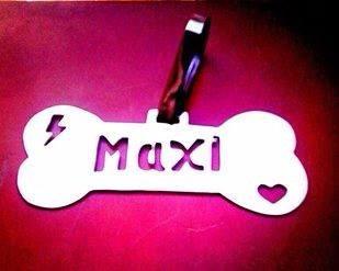 personalizados placas acero mascotas artistas online