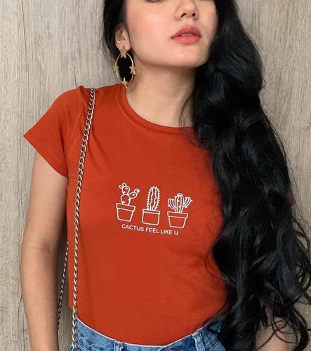 personalizamos camisetas basicas para mujer