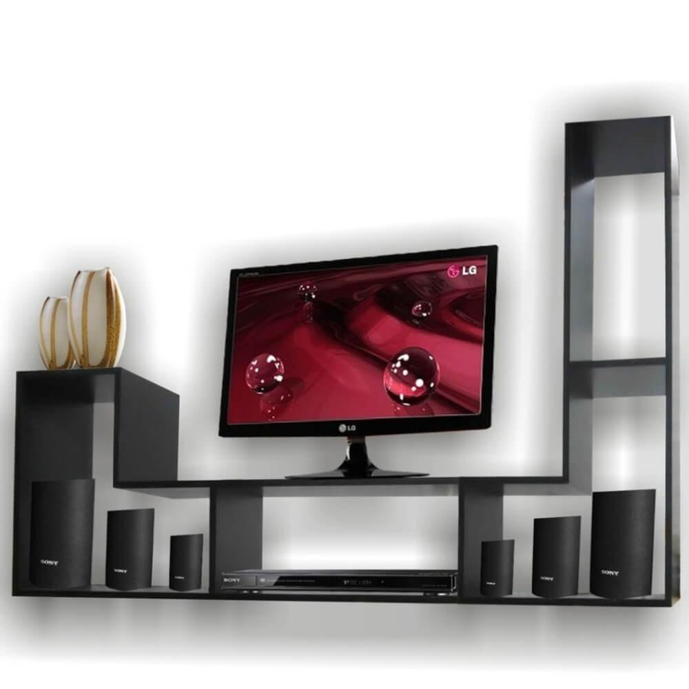 Muebles para la television modernos diseos decoracion e - Muebles de tv modernos ...