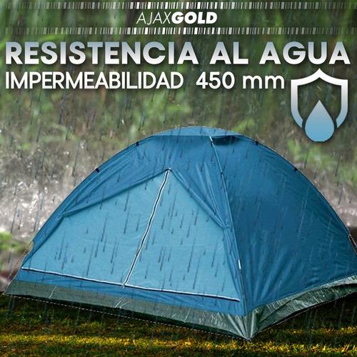 personas camping carpa iglu