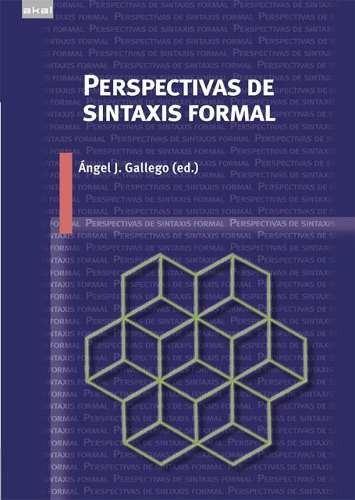 perspectivas de sintaxis formal, gallego, ed. akal