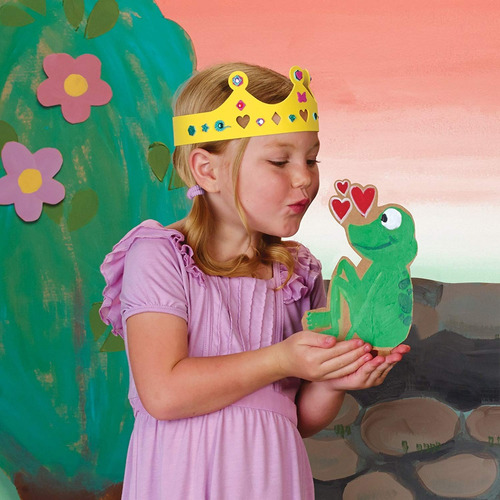 Educational Insights Once Upon a Craft The Frog Prince Educational Craft 1113