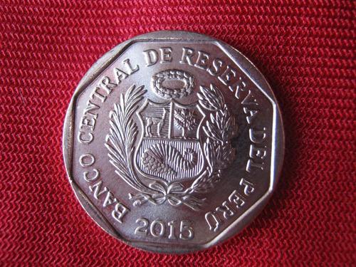 perú 1 nuevo sol 2015 conmemorativa: huarautambo
