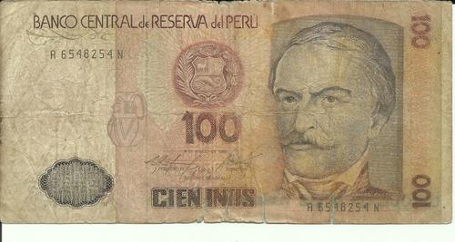 perú 100 intis