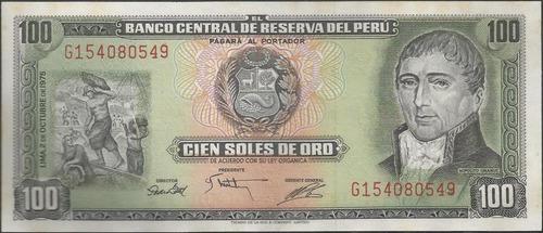 peru 100 soles 2 oct 1975 p108