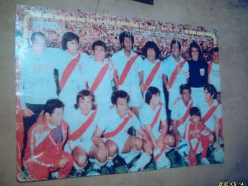 peru 1977, poster revista estadio 1977
