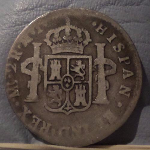 peru 2 reales 1782 e-mi b