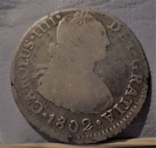 peru 2 reales 1802 e-ij b+