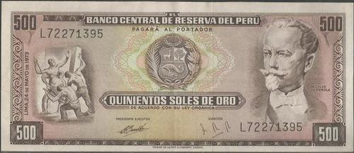 peru 500 soles 24 may 1973 p104b