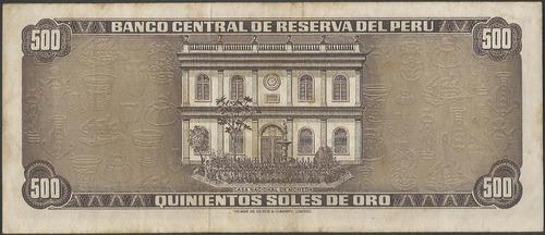 peru 500 soles 4 may 1972 p104b