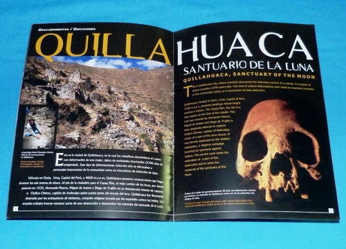 perú explorer 2006 ruth shady incas quilla huaca pirámides