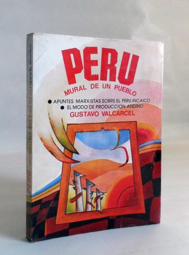 peru mural de un pueblo gustavo valcarcel peru incaico