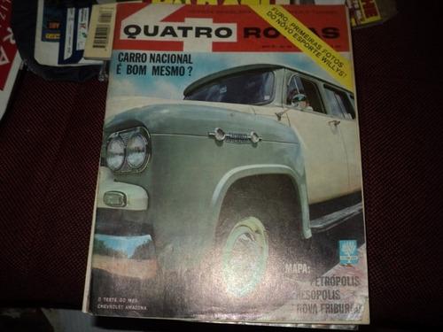 perua gm amazonas teste  1963   quatro rodas 34 revista