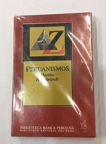 peruanismos - martha hildenbrant