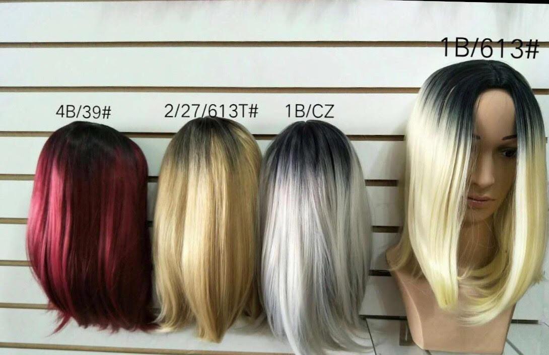 a9bfea0db Peruca Chanel Ombre Hair Com Franja Igual Humano - R$ 269,90 em ...